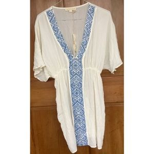 Lovestitch Kaftan Embroidered Cover Up Dress S